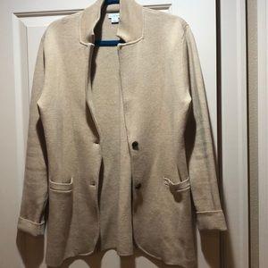 Euc.  J. crew sweater blazer